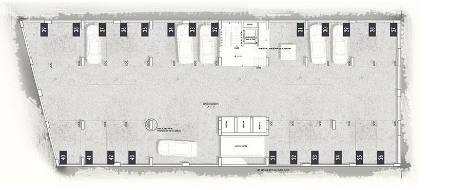 Progreso-40-Desarrollo-Inmobiliario-Sotano